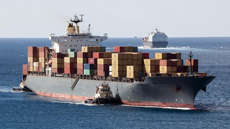 Seefrachtspedition – Spedition mit einem Schiff